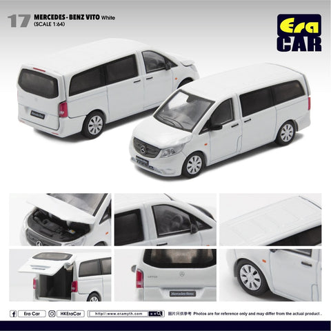 1/64 Era Car 17 Mercedes-Benz Vito White