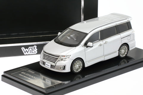 1/43 WIT'S - W147 NISSAN ELGRAND Rider HIGH PERFOMANCE SPEC Brilliant Silver