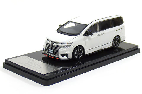 1/43 WIT'S - W389 Nissan Elgrand 250 highway STAR NISMO performance package nighthawk white pearl