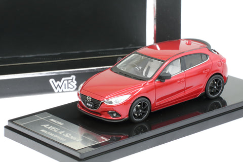 1/43 WIT'S - W81 AXELA 20S SPORT L Package (Soul Red Premium Metallic)