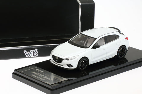 1/43 WIT'S - W83 AXELA 20S SPORT L Package (Snow White Pearl Mica)