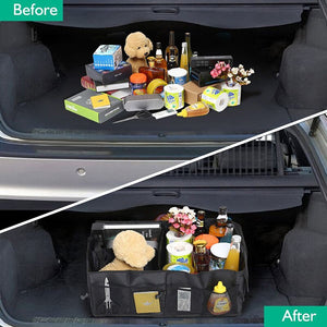 Folding Car Trunk Organizer Box
