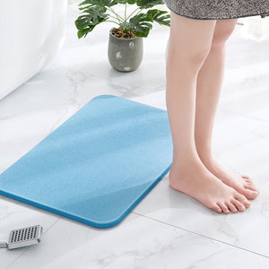 Non Slip Fast Drying Diatomite Bathroom Mat