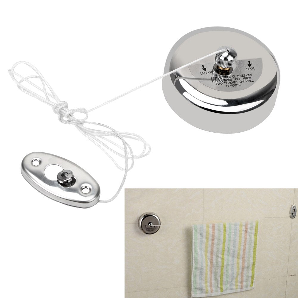 Stainless Steel Retractable Clotheslines for Laundry/Hanger