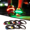 2pcs LED Luminous Safety Shoe Clip Night Running, Bicycle  and Outdoor sports