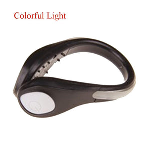 2pcs LED Luminous Safety Shoe Clip Night Running and Cycling