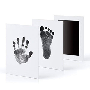 Footprint and Handprint Ink Pad Kit for Newborns