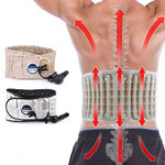 Decompression for Back and Lumbar Support  Belt with Heat Pad