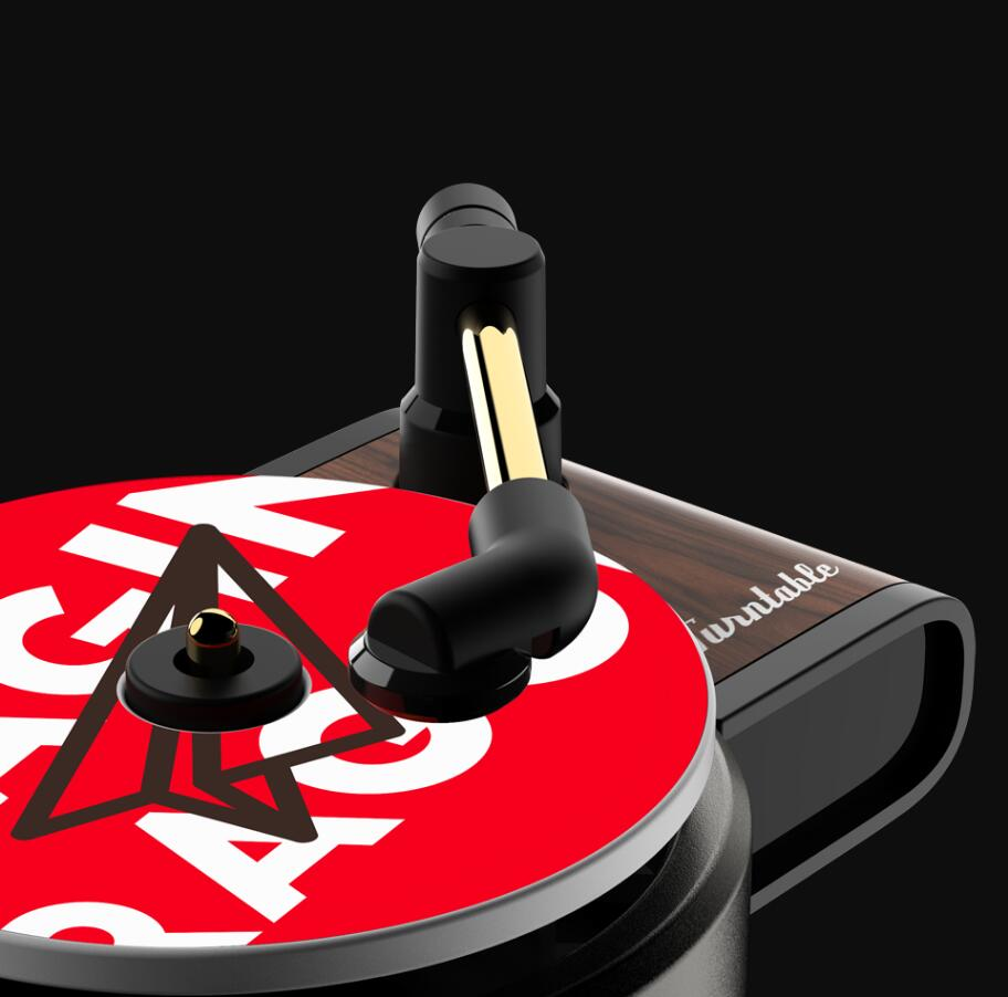 Car Retro Record Player Air Freshener