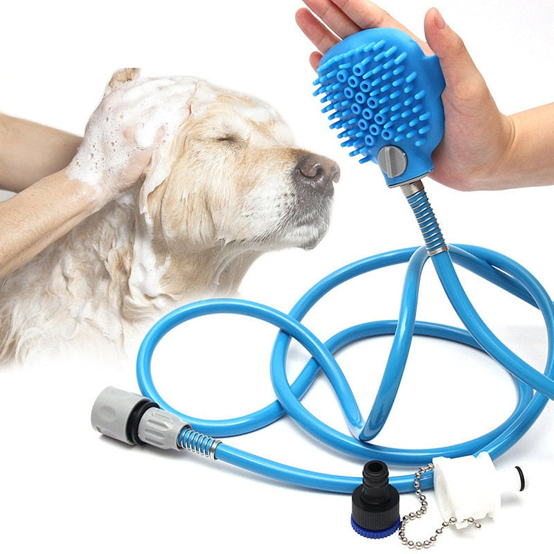 Bathing Shower Sprayer Brush for Pets