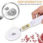 Kitchen Measuring Spoon 500g/0.1g LCD Display