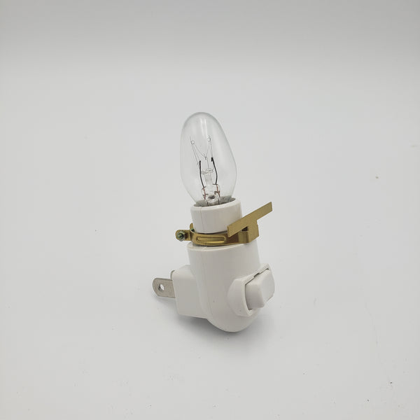 Night Light with Brass Clip
