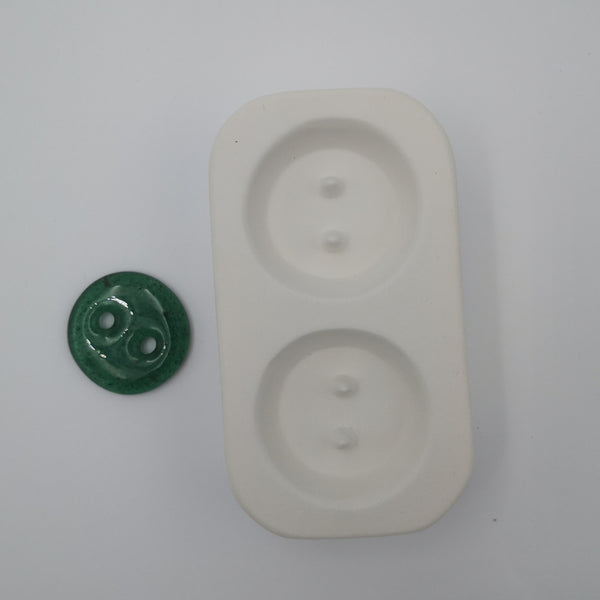 Large Round Button Mold
