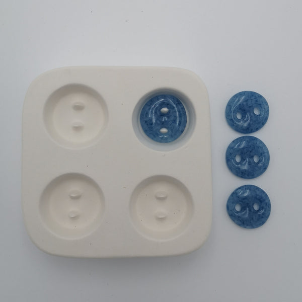 Small Round Button Mold