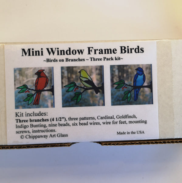 Mini Window Frame Birds