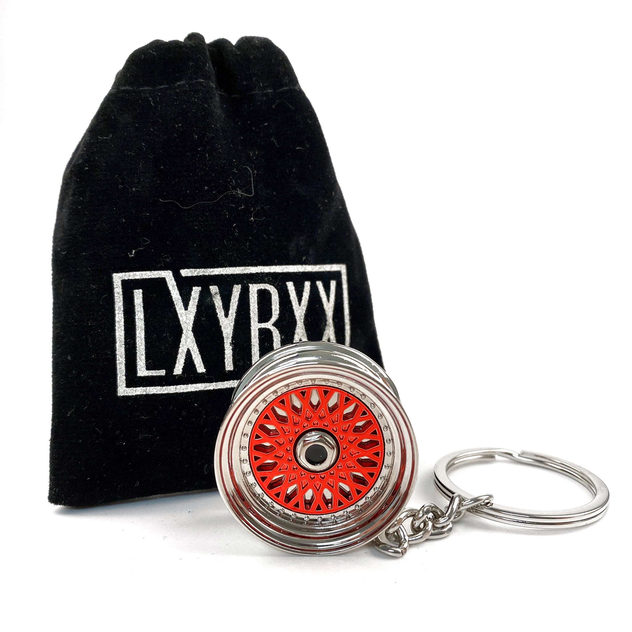 WHEEL WHORE MESH - Premium Key Ring
