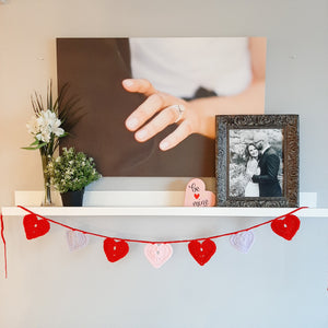 True Love Heart Garland