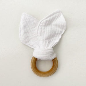 White Bunny Teether