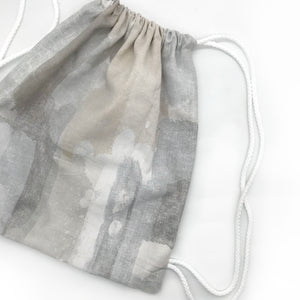 Water Colour Drawstring Bag