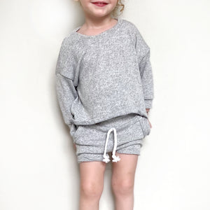 Summer Knit High Low Long Sleeve