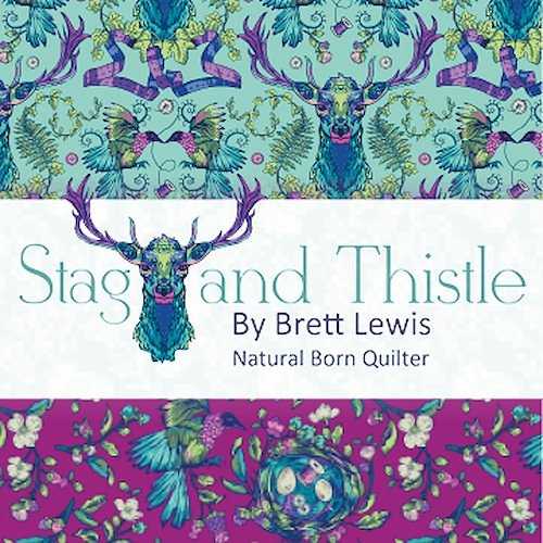 Stag and Thistle by Brett Lewis