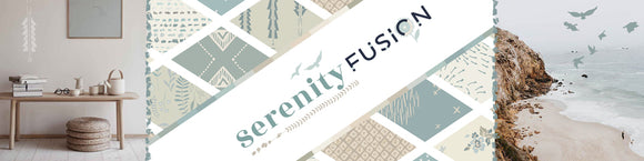 Serenity Fusion for Art Gallery Fabrics