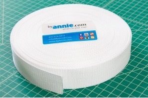 "By Annie 1.5"" Polypro strapping 50yd - BULK BUY"