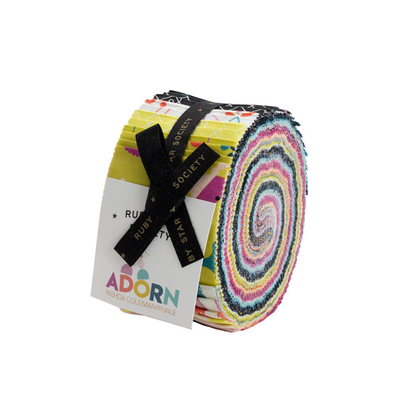 Adorn & Zip Jelly Roll by Ruby Star Society