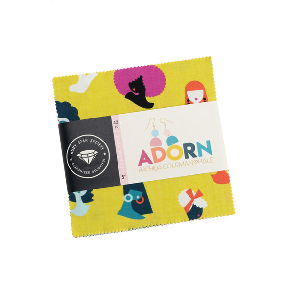 Adorn & Zip Charm Pack by Ruby Star Society