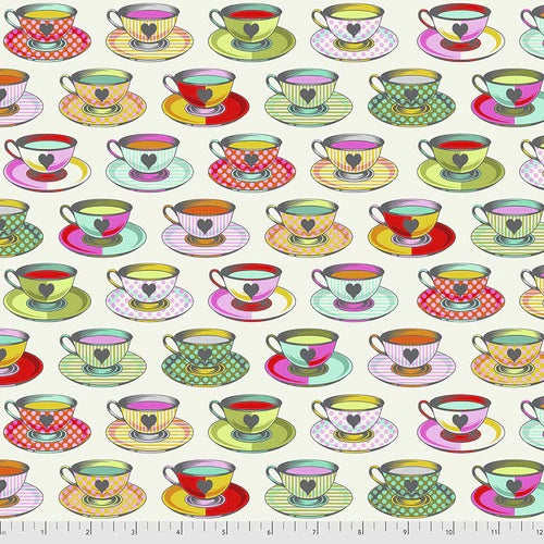 PRE ORDER - Curiouser & Curiouser by Tula Pink - Tea Time - Sugar