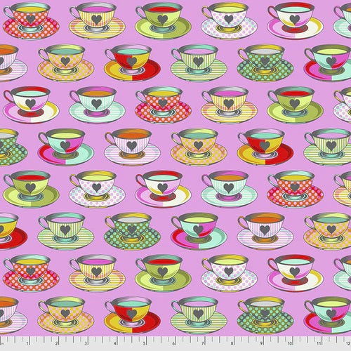 PRE ORDER - Curiouser & Curiouser by Tula Pink - Tea Time - Wonder
