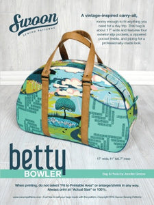 Betty Bowler by Swoon Bag Kit