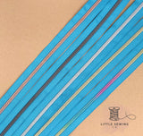 Blue Zipper Tape #5