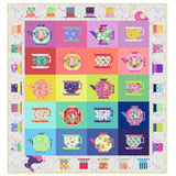 PRE ORDER - Tula Pink Curiouser & Curiouser Mad Hatter Tea Party Quilt Top Kit