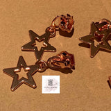 Chunky Open Star Zipper Pull #5