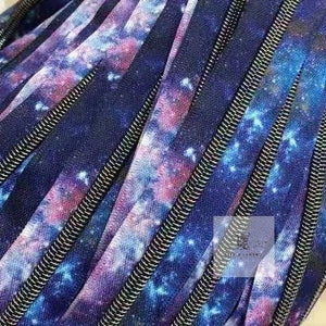 Dark Galaxy Zipper Tape #5