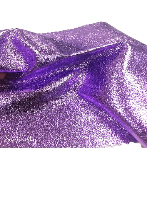Metallic Soft Vinyl Roll - Lovely Lilac
