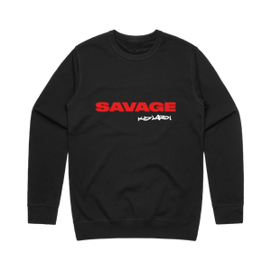Savage Crewneck Black