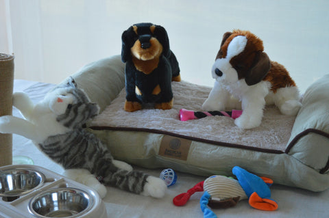 Pet Shop Kit with 3 Memorable Pets for People with Alzheimer's and Memory Care Activity Areas