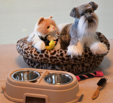 Pet Shop Kit with 2 Memorable Pets for People with Alzheimer's and Memory Care Activity Areas