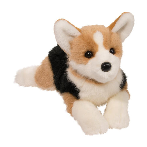 Large Tri-Colored DLux Welsh Corgi Dog Companion for People with Alzheimer's