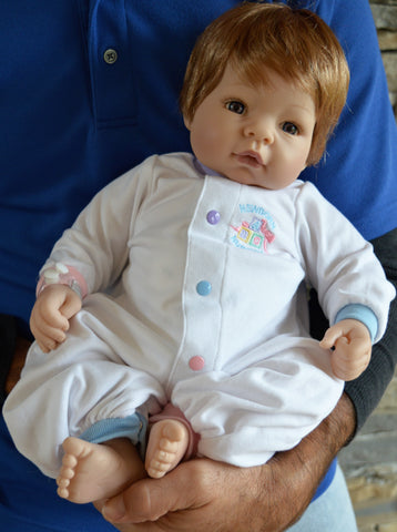 "Madame Alexander's Newborn Nursery ""Munchkin"" Baby  - Doll Therapy for People with Alzheimer's and Caregivers"