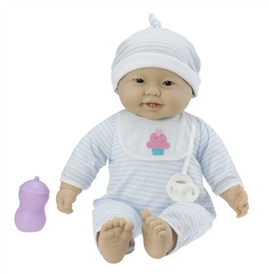 "Unisex Asian Baby ""Jing"" - Doll Therapy for People with Alzheimer's and Caregivers"