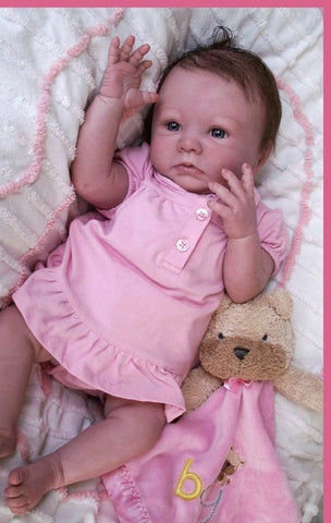Reborn Believable Babies - Sleeping Baby Girl Aubrey- Doll Therapy for People with Alzheimer's