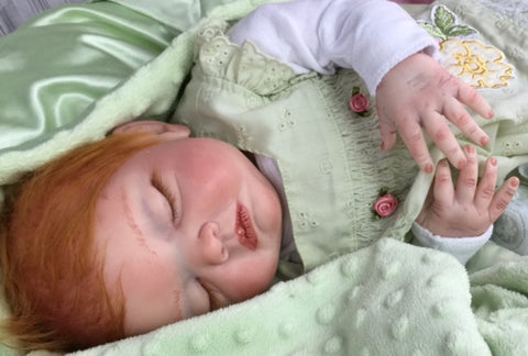 Reborn Believable Babies - Sleeping Baby Girl Avery- Doll Therapy for People with Alzheimer's