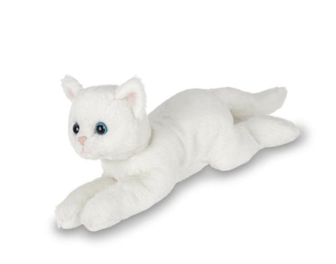 Small White Cat Companion