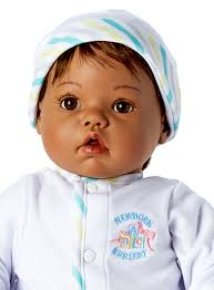 "Madame Alexander's Newborn Nursery Unisex ""Baby Face"" -Doll Therapy for People with Alzheimer's"