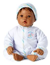 "Madame Alexander's Newborn Nursery ""Baby Face"" -Doll Therapy for People with Alzheimer's and Caregivers"