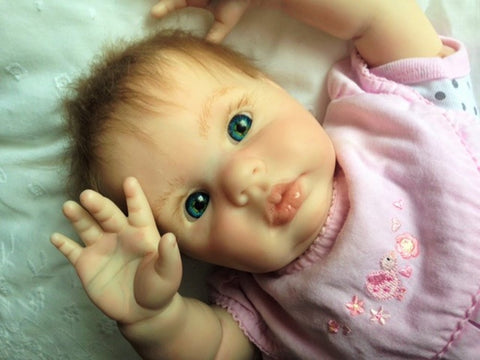 Reborn Believable Babies - Baby Girl Meagan - Doll Therapy for People with Alzheimer's