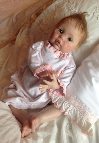 Reborn Believable Babies - Baby Girl Chanel - Doll Therapy for People with Alzheimer's